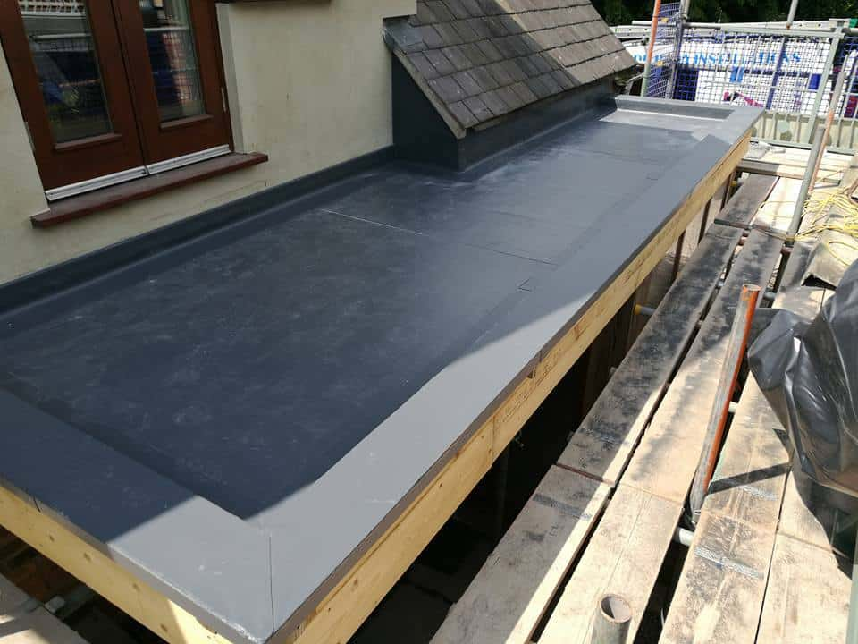 Balcony flat roof