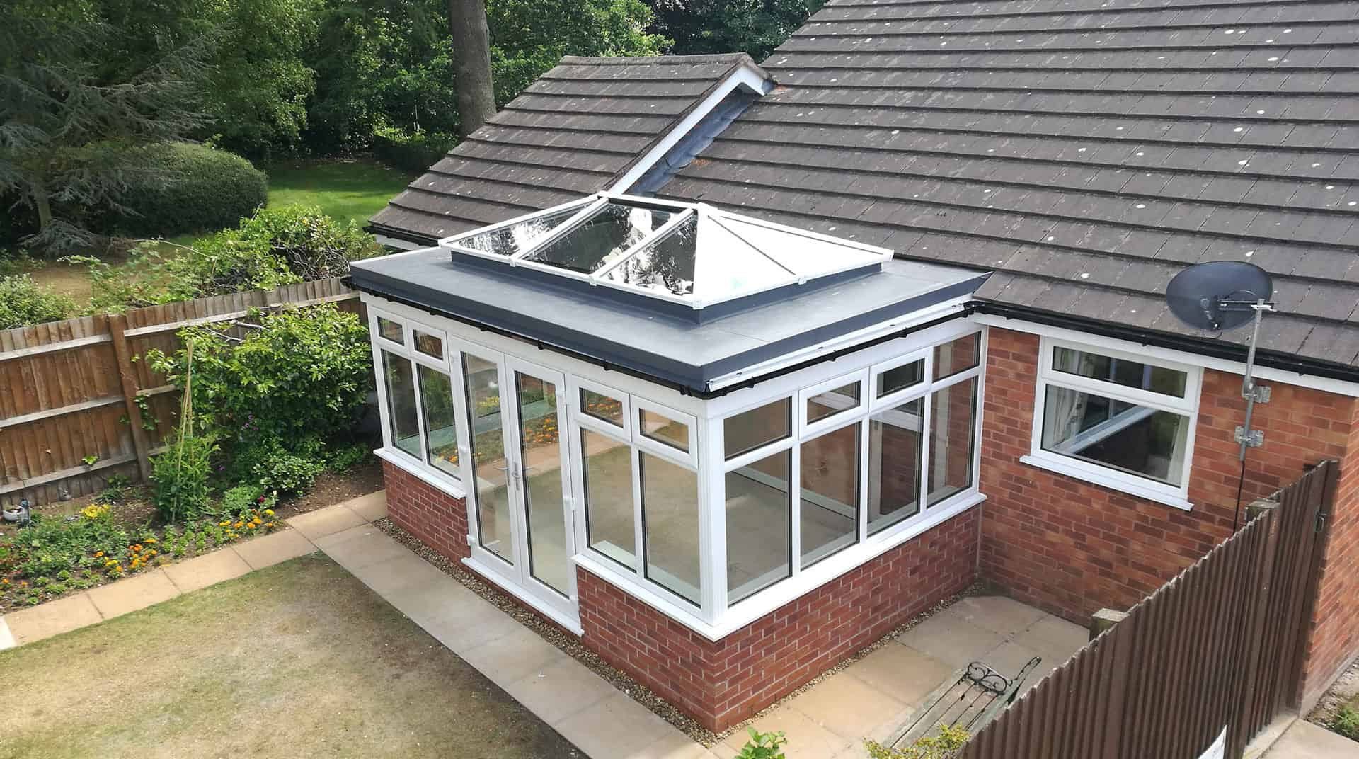 Flat Roof Solutions For Orangeries Amp Conservatories Expert Installers