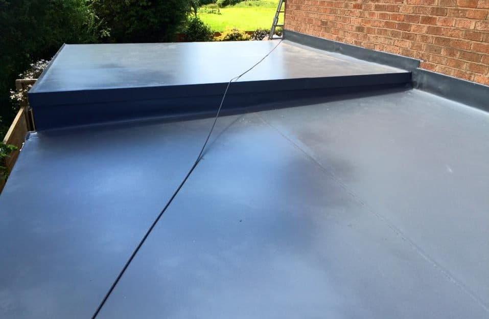 garage flat roofing