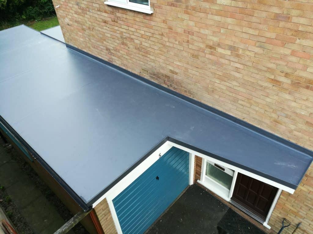 Flat Roof home