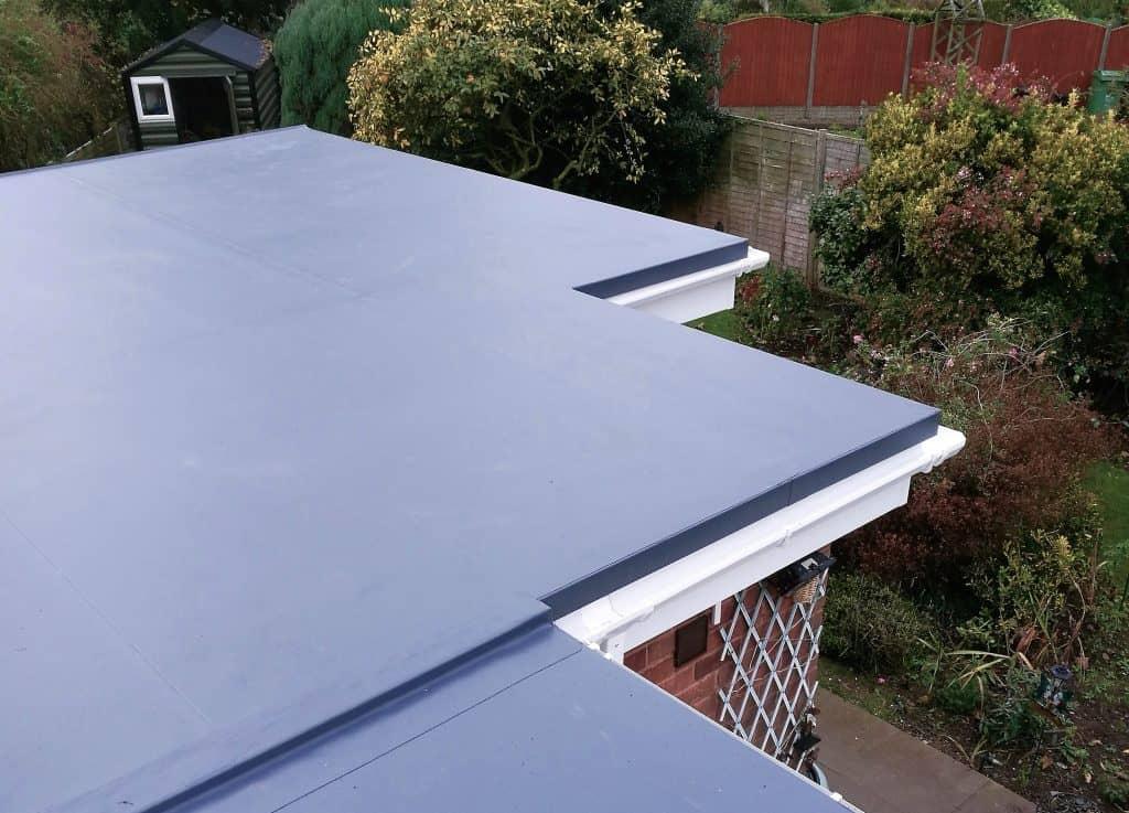 New sarnafil flat roof